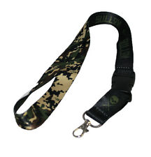 SULLEN CLOTHING HIDDEN CAMO LANYARD BADGE HOLDER CLIPS  TATTOO INK SCENE SKULL