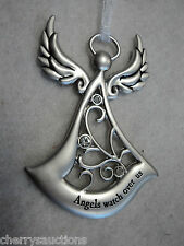 h ANGELS WATCH OVER US Angel angel by side ORNAMENT protection guardian ganz