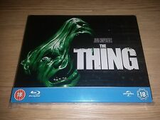 The Thing (1982) Steelbook (Blu-ray Disc) John Carpenter UK Region Free RARE OOP