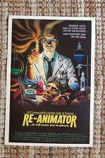 Re-Animator Lobby Card Movie Poster