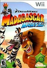 Madagascar Kartz (Nintendo Wii, 2009) VERY GOOD