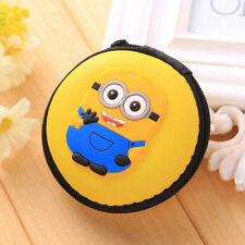 MINIONS EARPHONE CASE PURSE COIN HOLDER HEARING AID UK SELLER!!