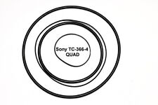 SET CINGHIE SONY TC-366-4  QUAD REGISTRATORE A BOBINE BOBINA NUOVE TC366-4 FRESH