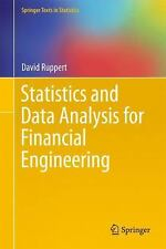 Statistics and Data Analysis for Financial Engineering (Springer Texts in Stati