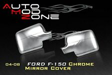 04-08 Ford F-150 Chrome Side View Full Mirror Cover Covers Set