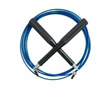 Plixio Jump Rope Speed Cable for Crossfit MMA Boxing Training w Aluminum Handles