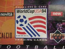 World Cup USA 94 Upper Deck Trading Cards (x 300) Full Box 50 x Unopened Packets