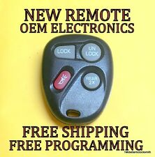 NEW GM GMC CHEVY KEYLESS ENTRY REMOTE FOB PHOB TRANSMITTER KOBLEAR1XT 15043458