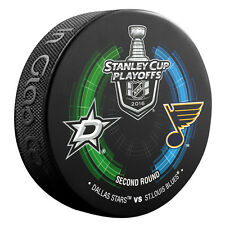 2016 NHL Dallas Stars vs St. Louis Blues Stanley Cup Playoffs Hockey Puck