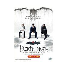 DEATH NOTE: NEW GENERATION VOL. 1-3 END JAPANESE LIVE ACTION MOVIE DVD ENG SUB