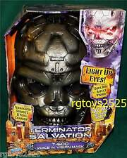 Terminator Salvation T-600 Voice N Vision Mask New Childs Sound FX Voice Changer