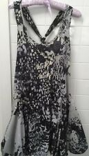Warehouse Size UK 6 Aus 8-10 Leopard Print Beach Party Casual Dress EUC