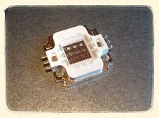 10W Watt LED RGB Chip / 350mA / 250 Lumen / Flutlicht Fluter / inkl. Wärmeleitp.