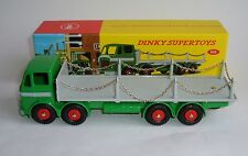 Atlas / Dinky Toys No. 935, Leyland Octopus Flat Truck with Chains, Superb Mint.