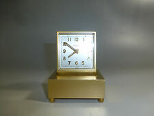 EXC Rare Vintage Swiss Angelus Music Alarm Clock Pre Reuge Music Box Plays Alarm