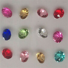 400Pcs 4mm Crystal Birthstones Floating Charm for Glass Living Memory Lockets
