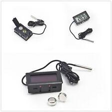 New Temperature Sensor LCD Display Meter Digital Panel Thermometer I5