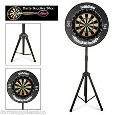 The Darts Caddy Kit, Portable Razor Dartboard Stand for the Serious Darts Player