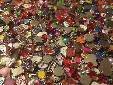 Lot of 50 Random Wholesale Floating Charms for Living Memory Lockets  *US Seller