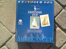 America's Cup DEFENDER 1895 Wooden Model Kit by Authentic Models Holland #SM33