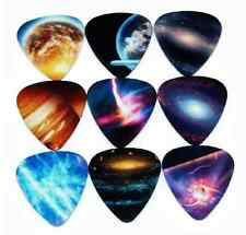 Assorted Galaxy Space Universe Guitar Picks Lot of 10 .71 mm US Seller New