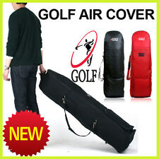 Golf Airplane Travel Cover Bag Carrier Red color