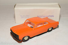 VEB PLASTICART PLASTIC OPEL REKORD ORANGE NEAR MINT BOXED