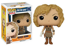 FUNKO POP! TELEVISION: DOCTOR WHO - RIVER SONG 296 VINYL w/ PRIORITY SHIPPING