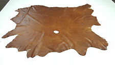 LEATHER COW HIDE VINTAGE LIGHT BROWN AUTO UPHOLSTERY COWHIDES CRAFTS TS11959