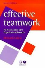 Effective Teamwork: Practical Lessons from Organizational Research (Ps-ExLibrary