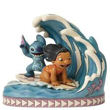 Disney Traditions 4055407 Catch The Wave Lilo and Stitch 15th Anniversary