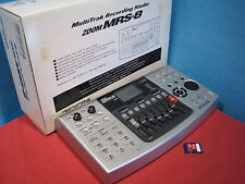 Excellent ZOOM MRS-8 Multitrak Recording Studio Drum Machine 1GB Card Used F/S