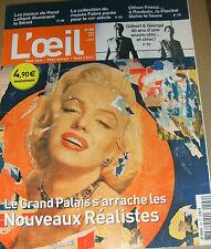 L'oeil N°589 Nouveau réalisme Bastien-Lepage Lalique Pascin Dion Gilbert George