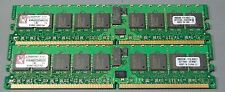 KINGSTON RAM MEMORY PC2-3200 4GB(2X2GB) REGISTERED ECC CL3 240PIN DDR2 S17-1-34A