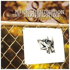 FREE US SH (int'l sh=$0-$3) NEW CD Mike Henderson: First Blood