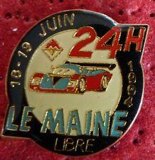 PIN'S PROTO VOITURE LES 24 HEURES DU MANS LE MAINE LIBRE 1994