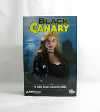 """NEW 2008 Green Arrow ✧ BLACK CANARY ✧ DC Direct 1:6 Scale 13"""" Figure MISB"""