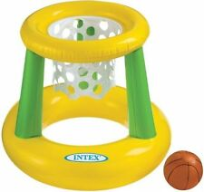 Intex Inflatables Kids Floating Basket Ball Hoops 67cm Height Game 58504