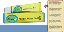 2 x10g SMYLE Herbal Mouth Ulcer Gel Ayurved Instant Relief Ulcer Pain Astringent