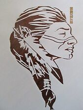 Native American Stencil for Airbrush, Crafting, Art Work, etc.