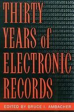 THIRTY YEARS OF ELECTRONIC RECORDS - NEW PAPERBACK BOOK