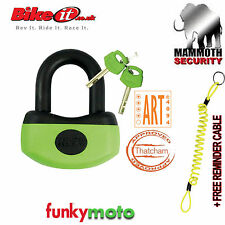 THATCHAM MAMMOTH MINI U DISK LOCK BIKEIT SECURITY APPROVED 13MM CR-MO HEAVY DUTY