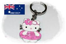 Hello Kitty Swimming Suit Enamel Metal Keyring Fob Bag Tag Party Loot Bag Filler