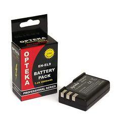 Opteka EN-EL9 Battery fr Nikon D40 D40X D60 D5000 D3000