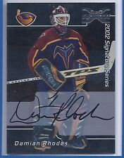 2002-03 BE A PLAYER SIGNATURE SERIES DAMIAN RHODES 01-02 BUYBACK AUTOGRAPH 53