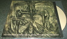 SEPULTURA-THE MEDIATOR BETWEEN HEAD AND HANDS-2013 3xLP BEIGE VINYL-100 ONLY-NEW