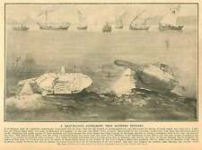 1908 Marvellous Submarine That Gathers Sponges