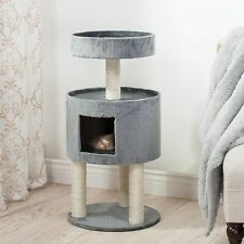 Kitty Cat Condo House with Resting Perch and Scratching Posts 35 Inches