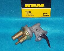 "1976 1982 Ford Mercury 4cyl 200"" 140"" KEM Mechanical Fuel Pump 1136"