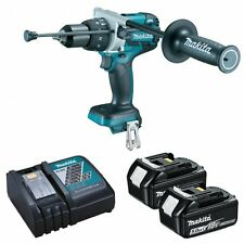 Makita DHP481RTJ 18v Brushless Combi Drill LXT 2 x 5.0Ah Li-Ion